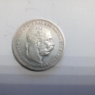 Монета. 1. Корона. 1901. Австровенгрія
