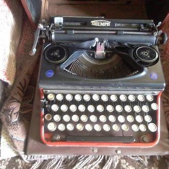 TRIUMPH немецкая печатная машинка