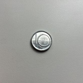 Чехия 10 геллеров 1993