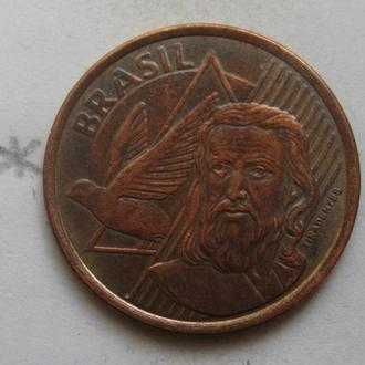 5 сентаво 2011 г., БРАЗИЛИЯ.