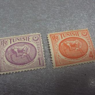 марки тунис лот 2 шт
