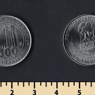 Парагвай 500 гуарани 2006-2011