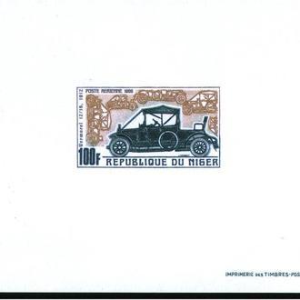 Транспорт / Техника . Нигер 1969 г MNH - 3 люксблока / 3 скана