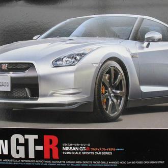Сборная модель автомобиля Nissan GT-R 1:24 Tamiya 24300