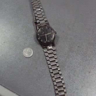 часы наручные заря ссср 17 камней с ремешком №445