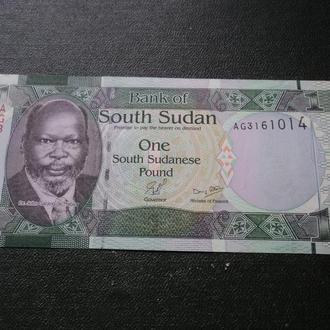 Южный Судан 1 фунт. Фауна. Личности.