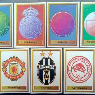 Наклейки, футбол, лого команд