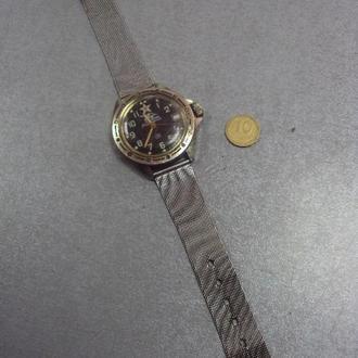 часы наручные механизм циферблат командирские №160