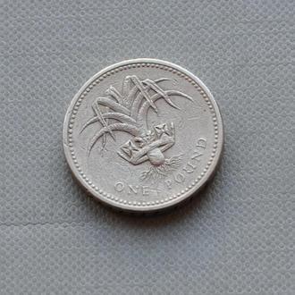 1 фунт Великобритания 1985 г.