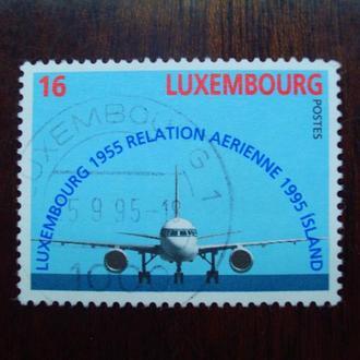 Люксембург.1995г. Самолет Боинг-757. Полная серия.