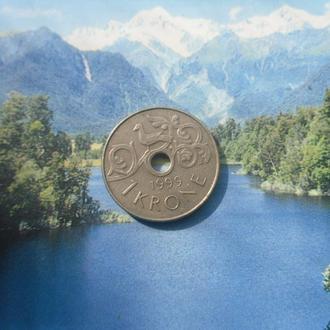 Норвегия 1крона 1999г