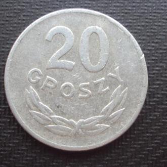 Польша 20 грошей. 1949г.