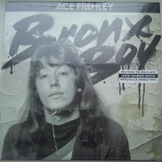 ACE FREHLEY  Bronx Boy EP  White/Black Marble,  Sealed