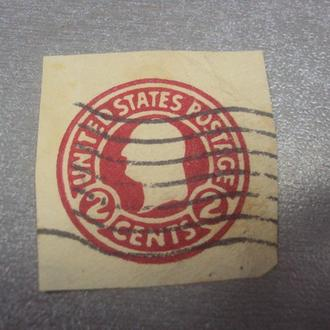марка сша 2 цента