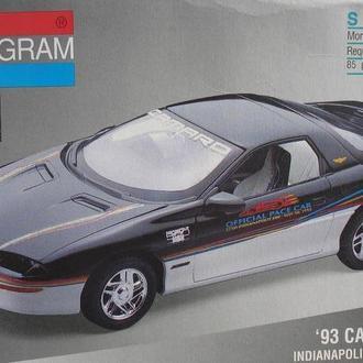 Сборная модель автомобиля Chevrolet  '93 Camaro Indi 500 Pace Car  1:25 Monogram