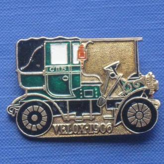 Авто. Велокс 1906