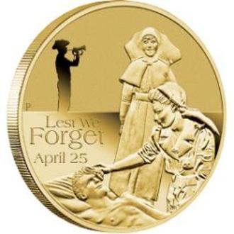 АВСТРАЛИЯ. The Perth Mint. 2012. 1$. ANZAC Day.