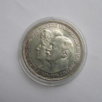 3 марки Германия Анхалт 1914 год