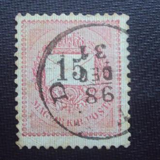 Венгрия 1888-98г.гаш.
