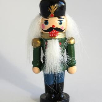Деревянная фигурка Щелкунчик к Новому году и Рождеству Германия №1