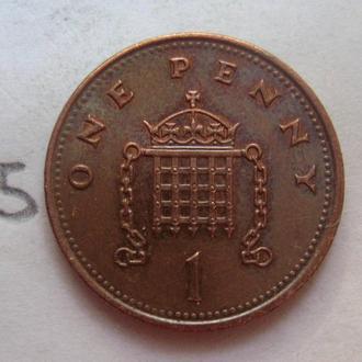 ВЕЛИКОБРИТАНИЯ, 1 пенни 2001 года.