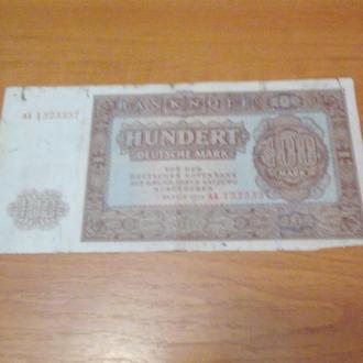 100 марок-НДР-1955
