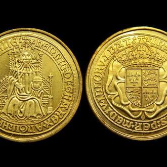 Золотой соверен 1489 год Генрих VII Англия