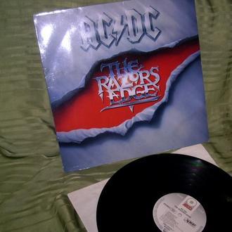 AC / DC  The RAZORS EDGE  1990  Atlantic GEMA   EX = / NM