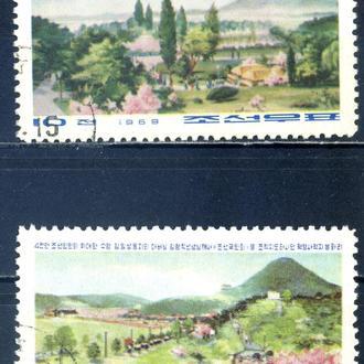 КНДР. Природа (серия) 1969 г.