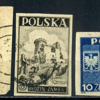 Польша. Исторические памятники 1946 г.