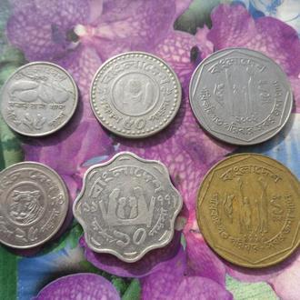 Бангладеш(подборка) 6шт