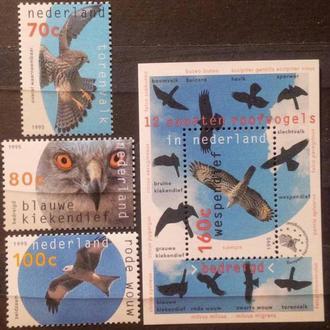 Нидерланды птицы MNH