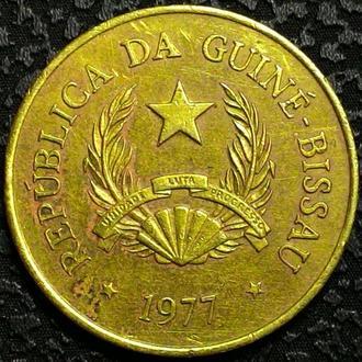 Гвинея -Биссау 1 песо 1977 год СОСТОЯНИЕ!!!!!!