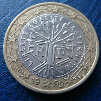 Франция 1 евро 1999
