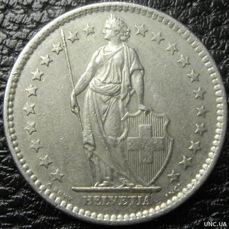 2 франка 1978 Швейцарія