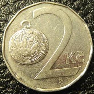 2 крони 1993 Чехія