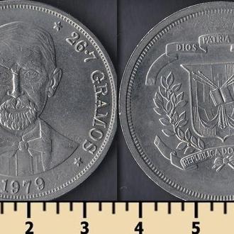 Доминиканская республика 1 песо 1979