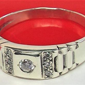 Кольцо перстень серебро 925 проба 3,04 гр. 20,5 размер