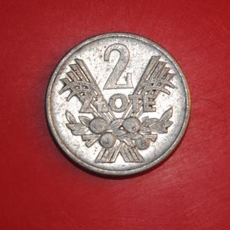 2 злотых 1960 г Польша