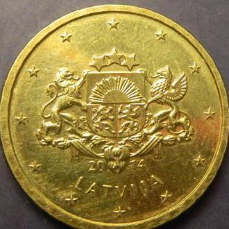 10 євроцентів 2014 Латвія