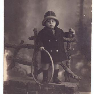 Фотография ребенка. До 1917 года.