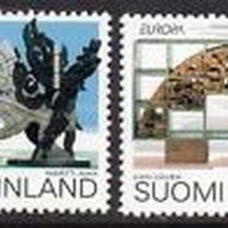 Финляндия 1993 EUROPA CEPT Искусство