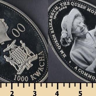 Замбия 1000 квача 2000