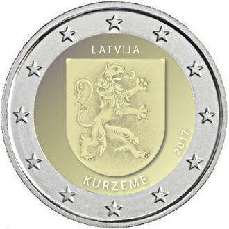 Shantaaal, Латвия 2 евро 2017, Курземе
