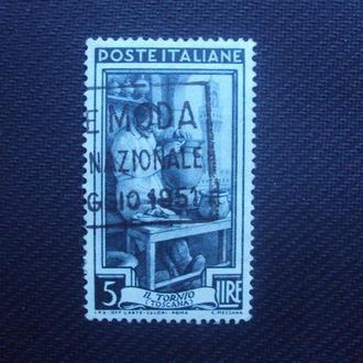 Италия 1951г. гашение.
