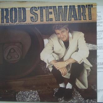 ROD STEWART  Every Beat Of My Heart  LP  EX