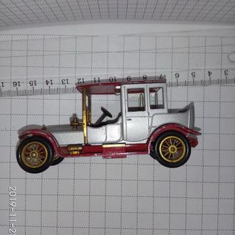 Matchbox – 1912 Rolls-Royce – 1968- 1973 Y-7 – Матчбокс Роллс-Ройс -Lesney - Model of yesterday