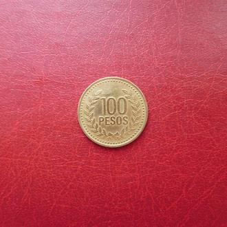 Колумбия 100 песо 1994