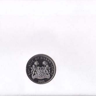 Сьерра-Леоне 1 доллар 2002