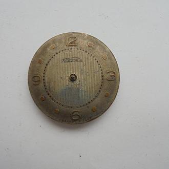 Циферблат механических часов РАКЕТА с механизмом. (№806).